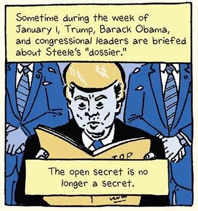 Anything but 'Fake News': Cartoonist Josh Neufeld on his graphic account of the 'Donald Trump-Russia dossier' saga