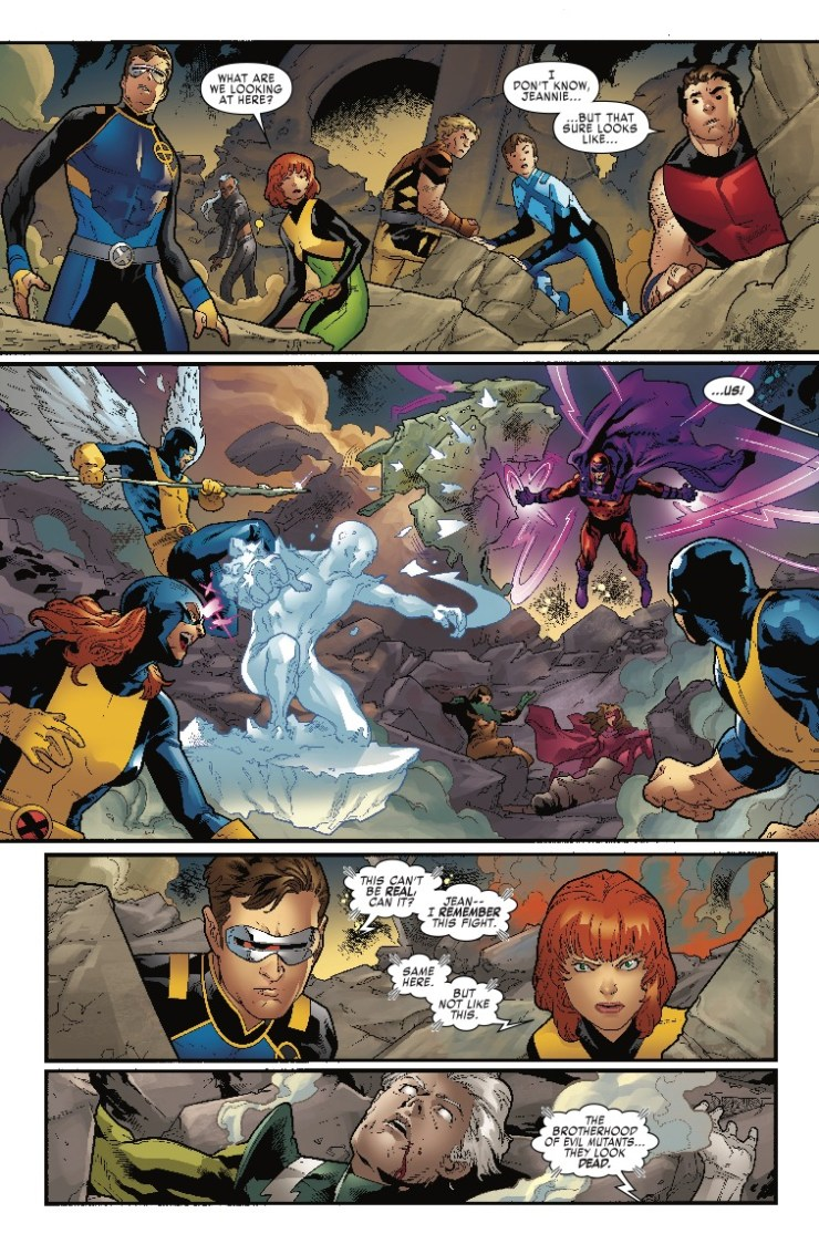 Marvel Preview: X-Men: Blue #19
