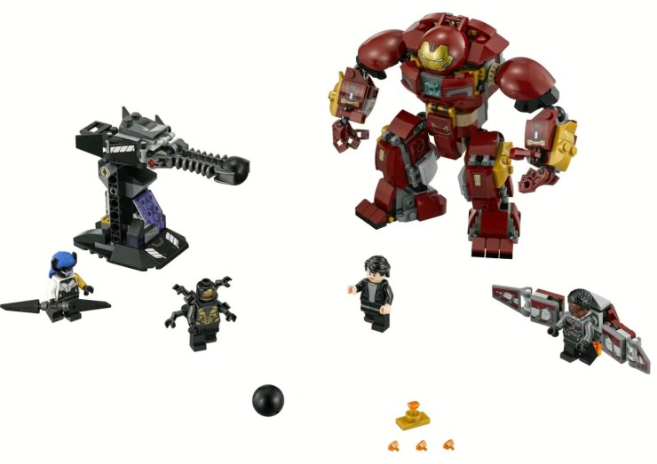 Leaked Lego 'Avengers: Infinity War' sets reveal new plot details from the upcoming film
