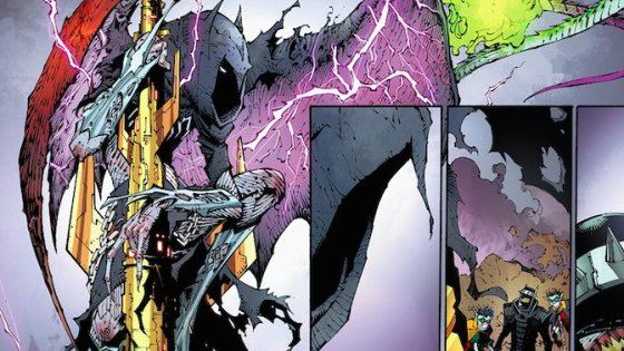 'Dark Nights: Metal' #5: We never knew how much we wanted green-fire-breathing Joker dragons until now