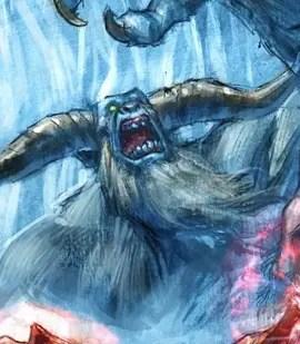 Surprising Hearthstone Art: Chillwind Yeti