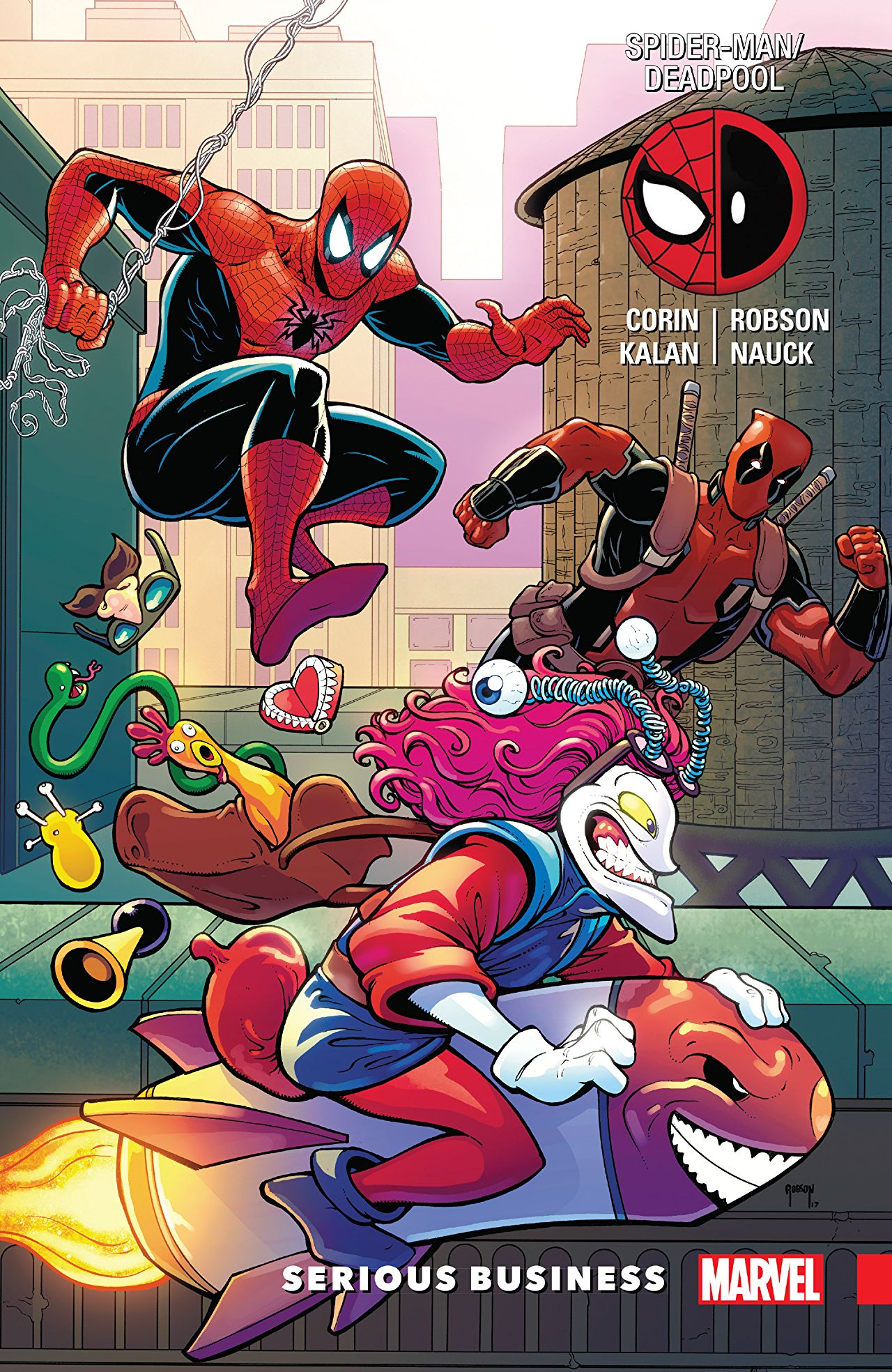 Spider-Man/Deadpool Vol 4: Serious Business review: funny, fast-paced, and light on the deep thinking