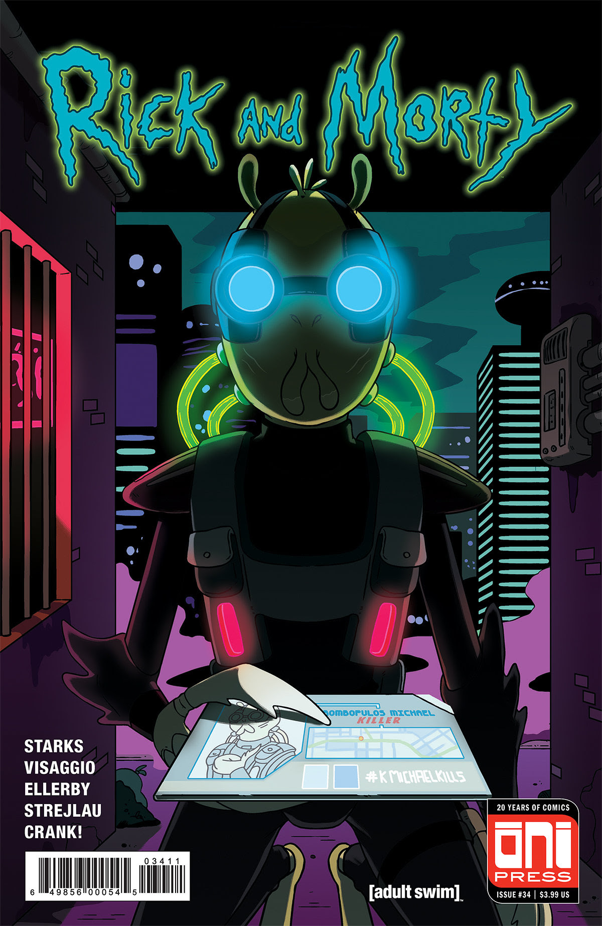 Rick and Morty #34 Review