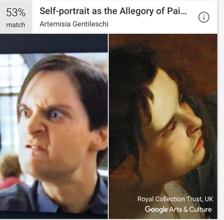 We used Google's new Arts & Culture app to compare superheroes to famous paintings with some bizarre results