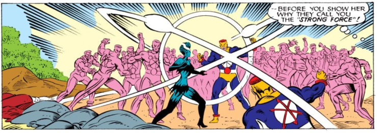 Magneto vs. Graviton.  Who'd win in a fight?  Neither.