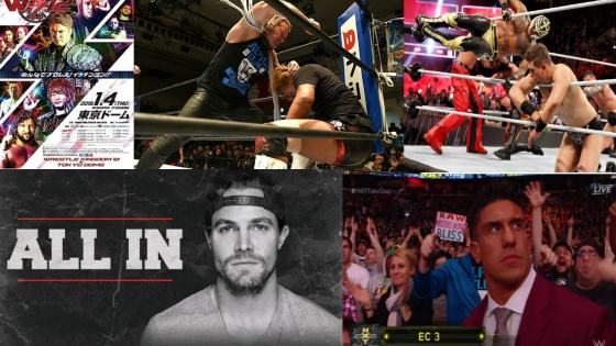 When things are hitting on all cylinders, it makes you proud to be a wrestling fan. January 2018 was one of those times.