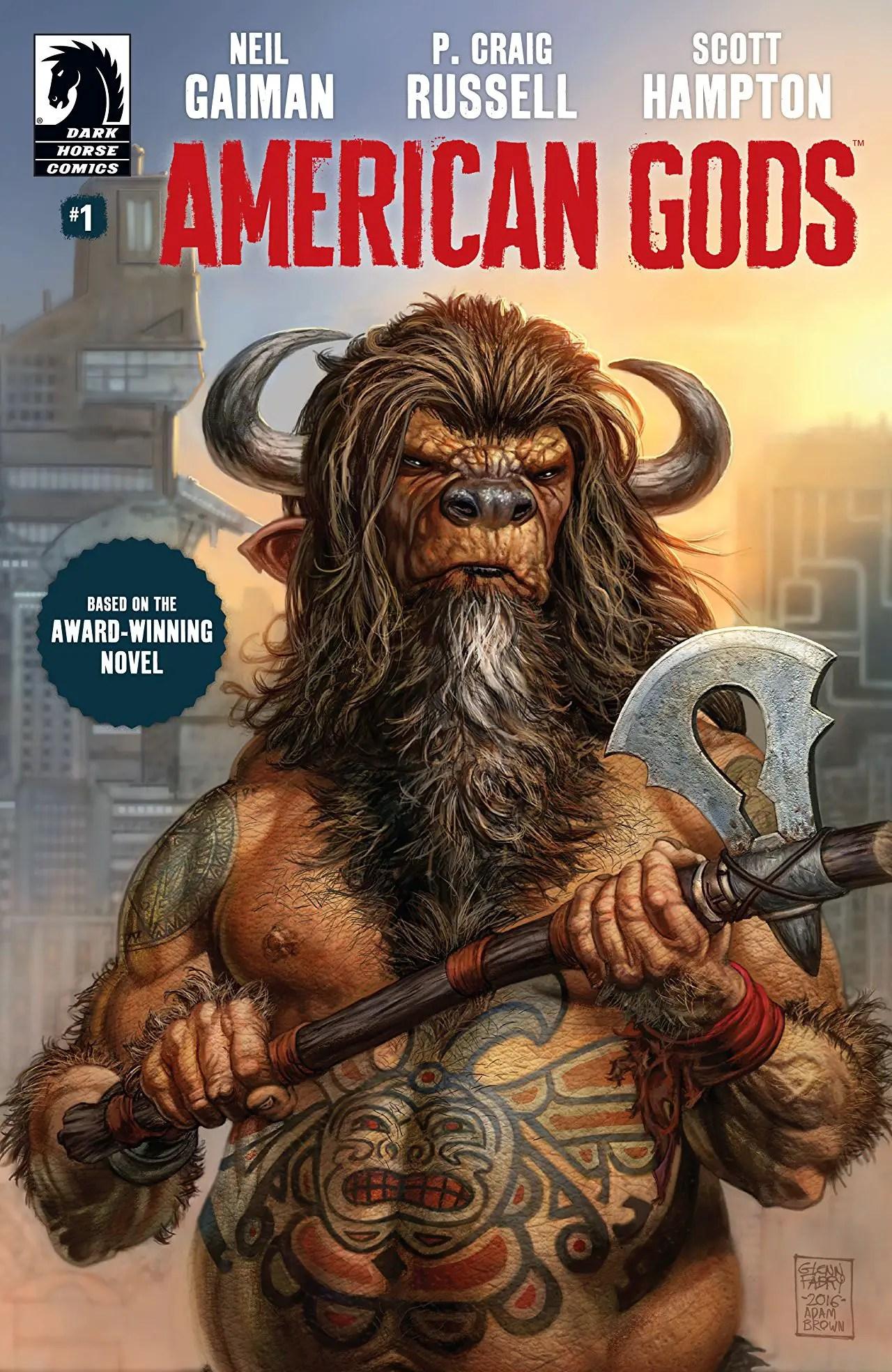 'American Gods Vol. 1: Shadows' brings Neil Gaiman's world to life in a beautiful way