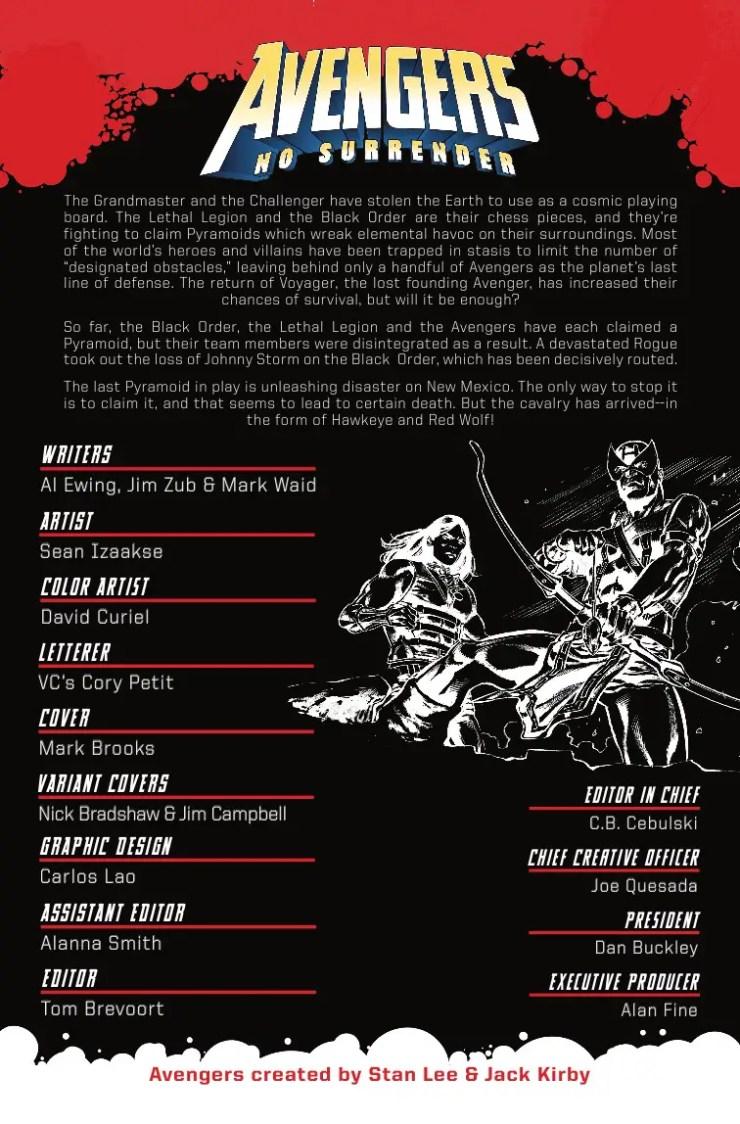 Marvel Preview: Avengers #682