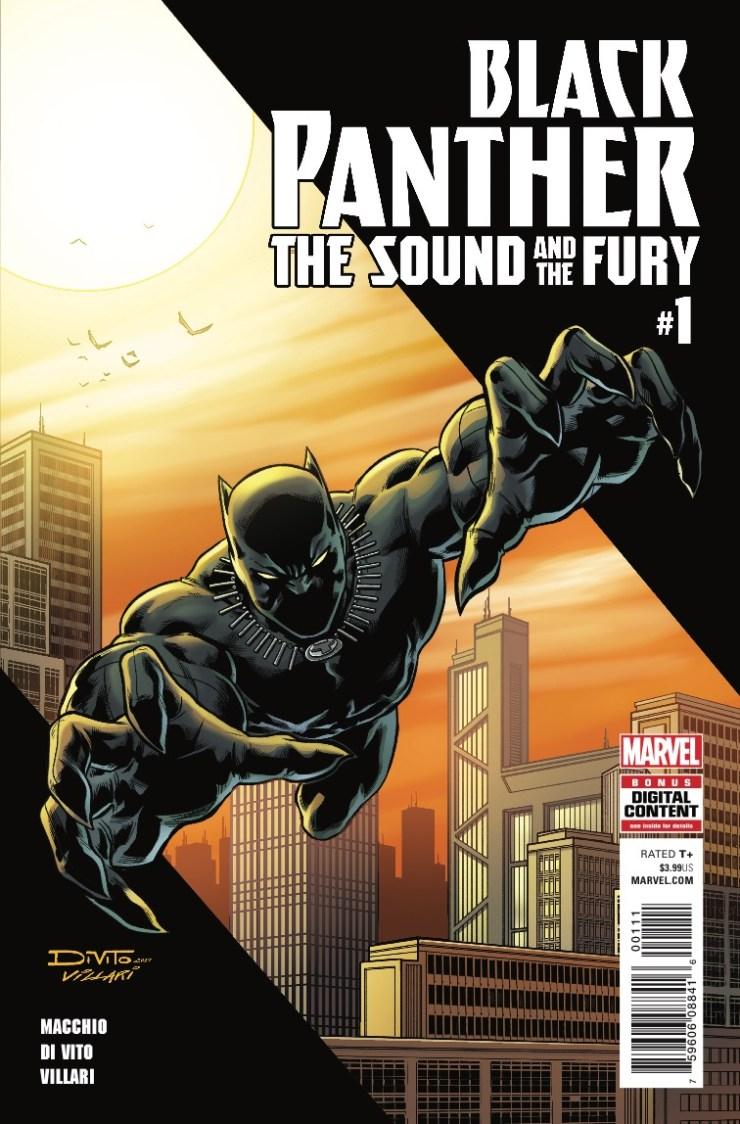 Marvel Preview: Black Panther: The Sound and the Fury #1
