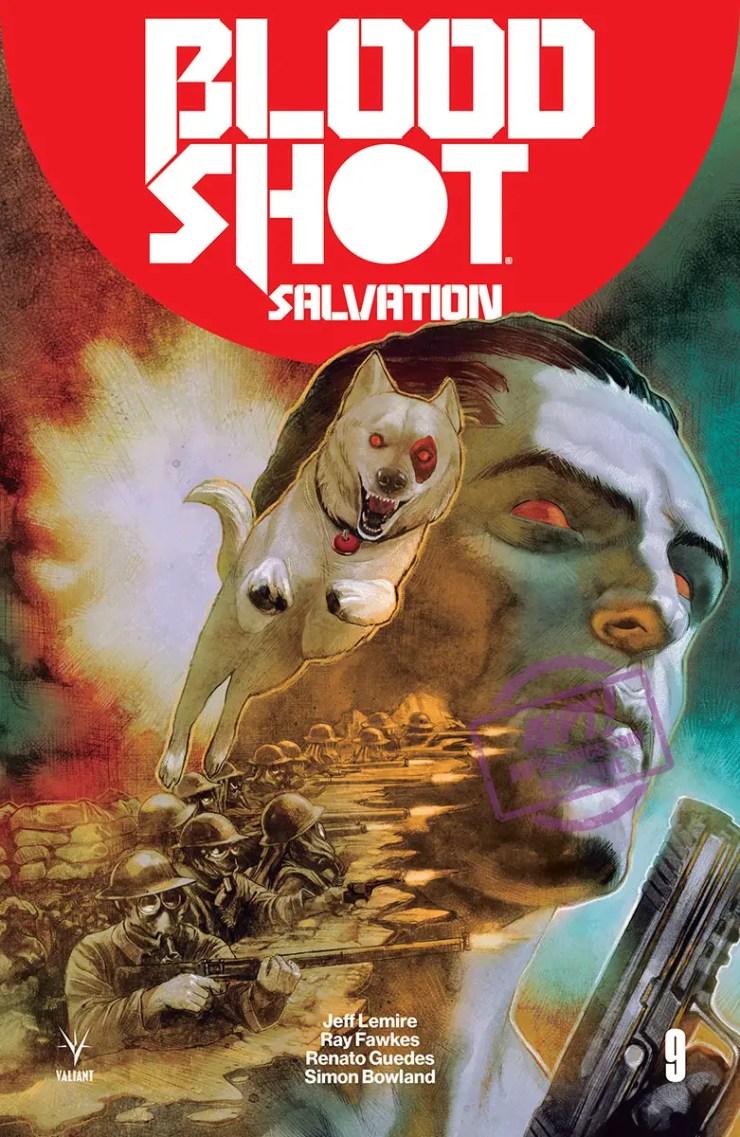[EXCLUSIVE] Valiant Solicit: BLOODSHOT SALVATION #9