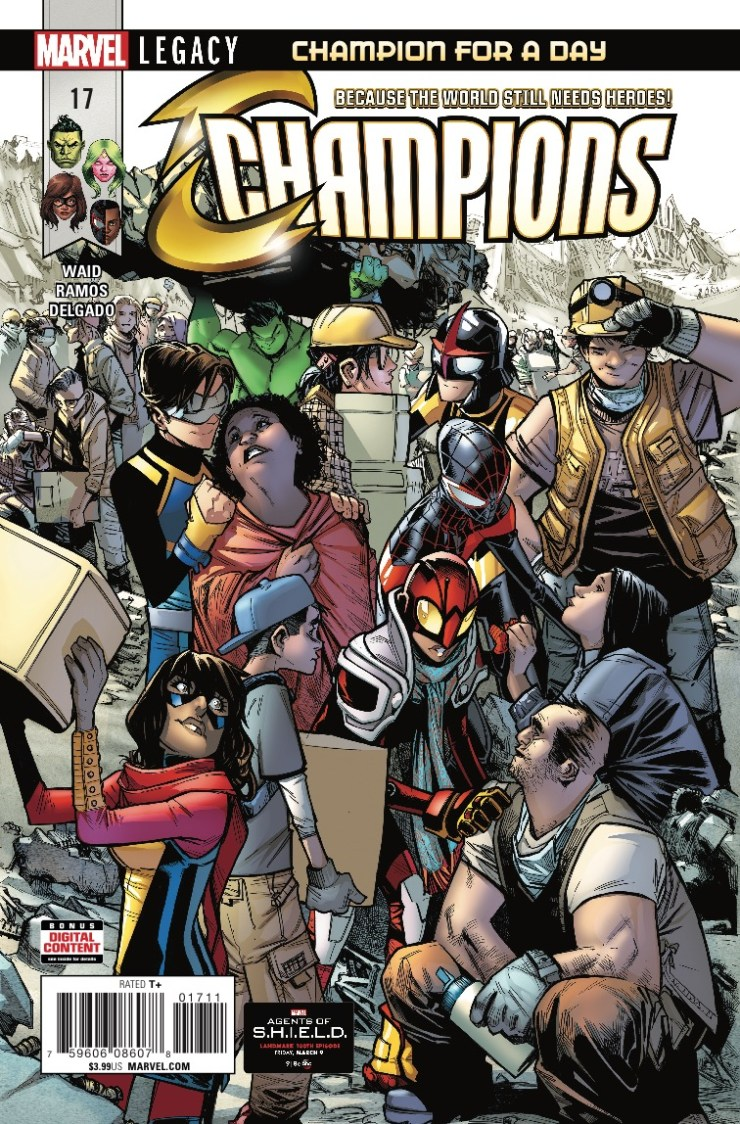 Marvel Preview: Champions #17