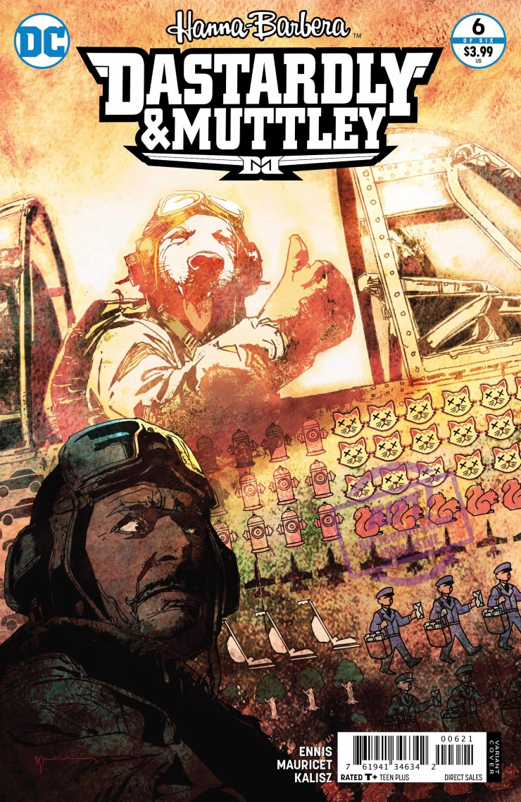 [EXCLUSIVE] DC Preview: Dastardly & Muttley #6