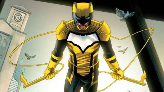 Batman's sidekick, The Signal, has powers that tie into Dark Nights' Nth metal