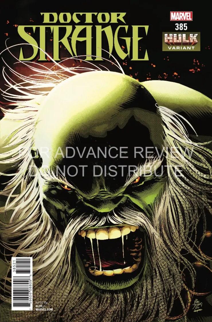 Marvel Preview: Doctor Strange #385