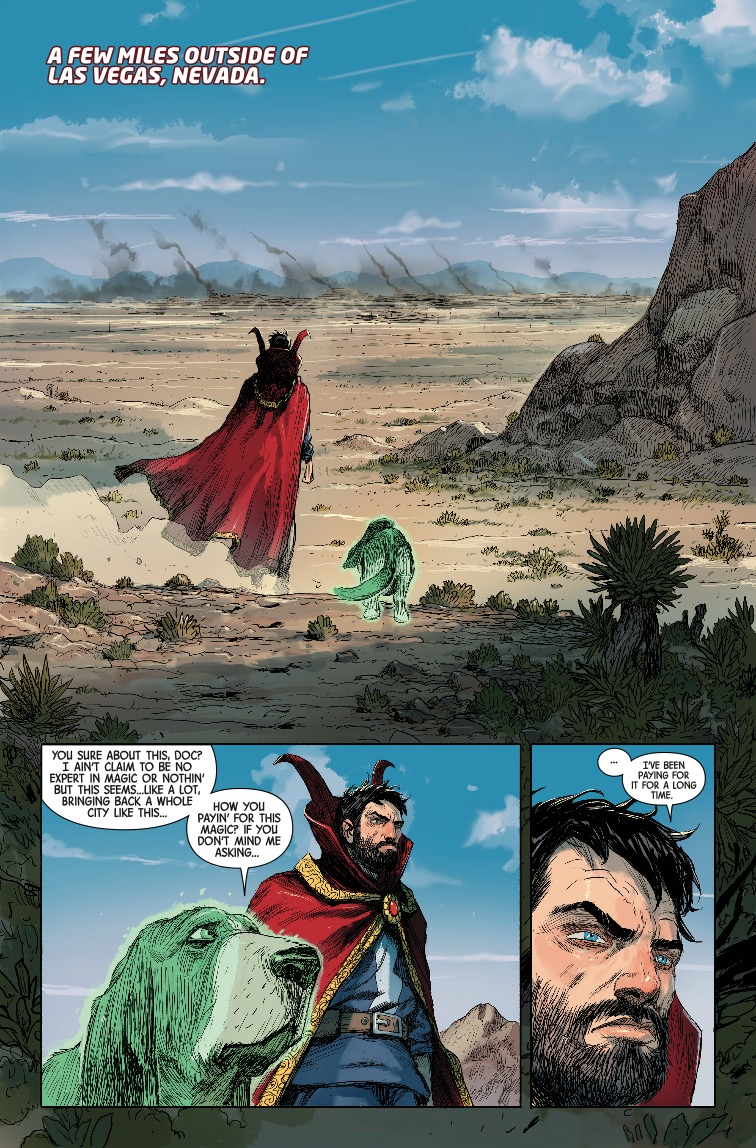 Doctor Strange #386 Review
