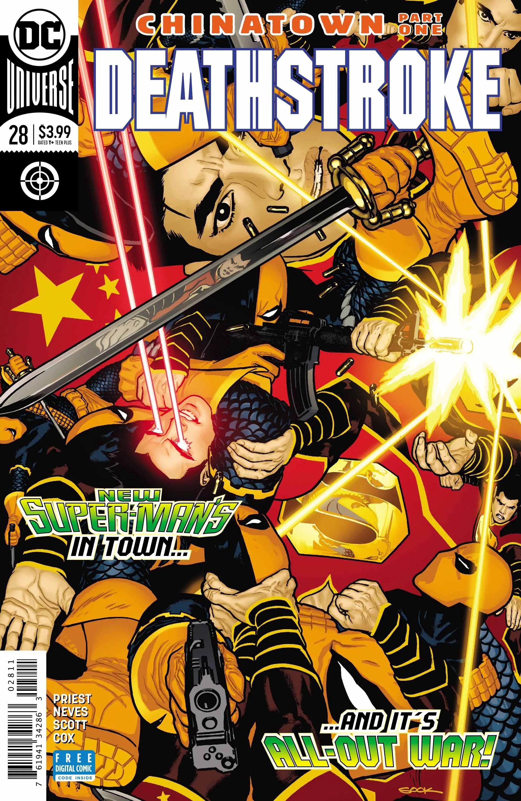 Deathstroke #28 Review
