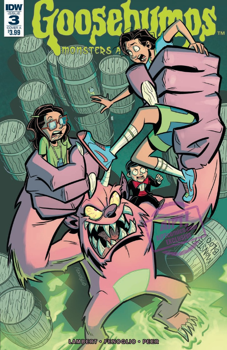 [EXCLUSIVE] IDW Preview: Goosebumps: Monsters at Midnight #3