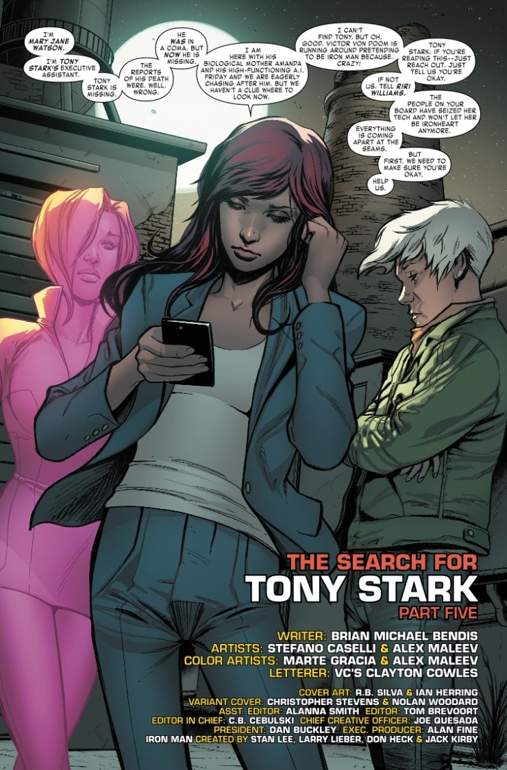 Marvel Preview: Invincible Iron Man #597