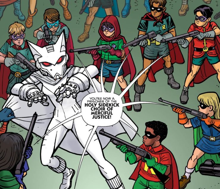 Mother Panic/Batman Special #1 review: Milk Wars continues!