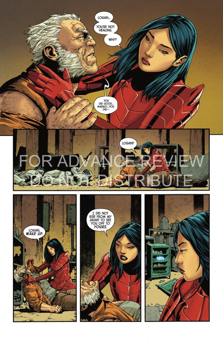 Marvel Preview: Old Man Logan #35