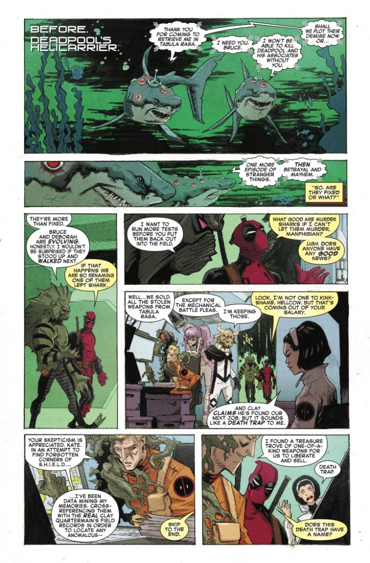 Marvel Preview: Spider-Man/Deadpool #27