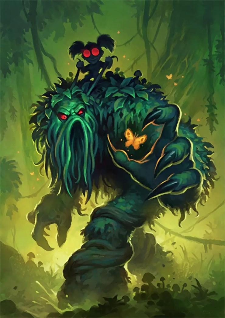 Surprising Hearthstone Art: Fen Creeper