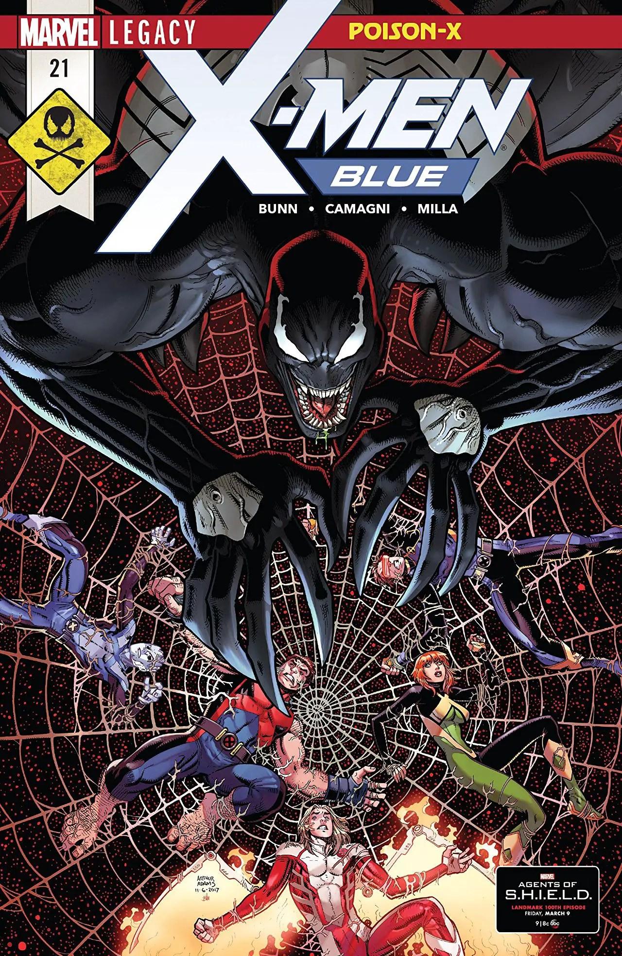 X-Men Blue #21 review