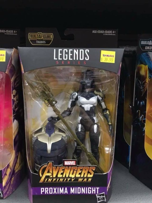 'Avengers: Infinity War' Figures Starting to Hit the Shelves