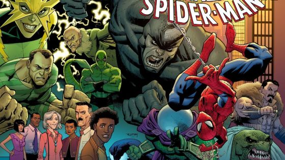 Nick Spencer and Ryan Ottley officially taking over Amazing Spider-Man