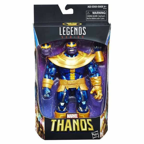 Walmart Exclusive: Marvel Legends Thanos with Infinity Gauntlet revealed