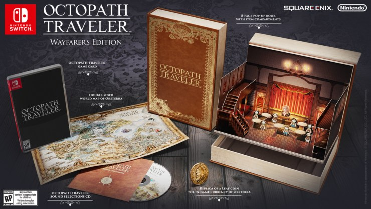 Octopath Traveler - Collector's edition and new character reveals