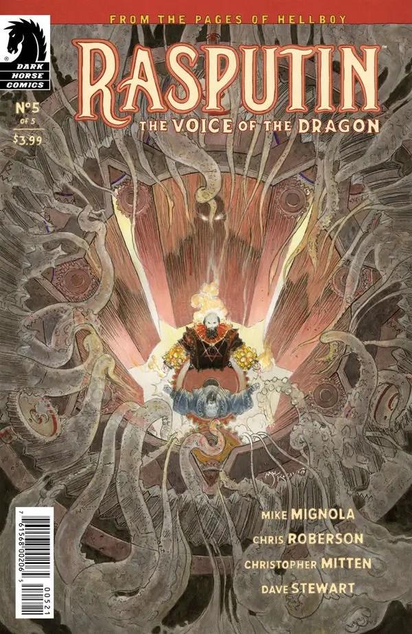 Rasputin: The Voice of the Dragon #5 Review