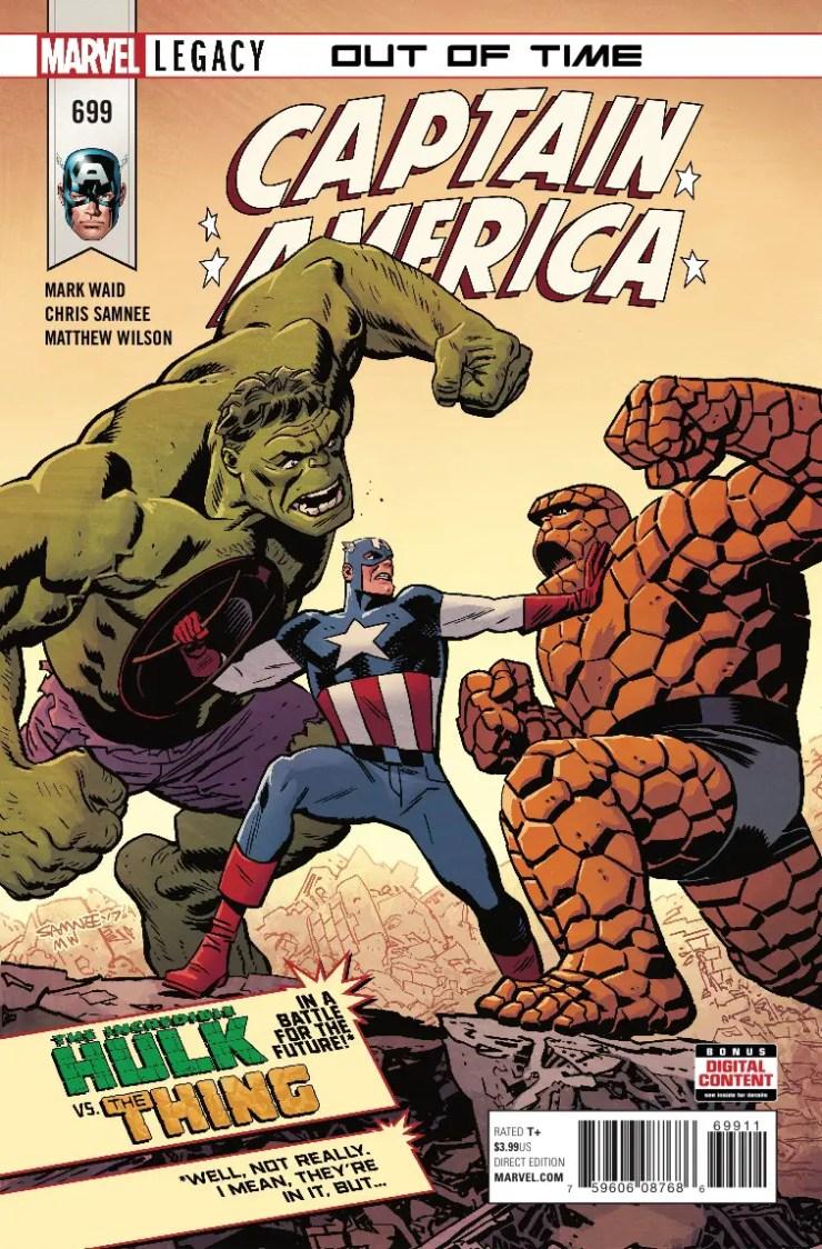 Marvel Preview: Captain America #699