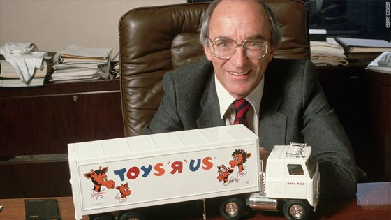 Toys 'R' Us founder, Charles Lazarus dies at the age 94.