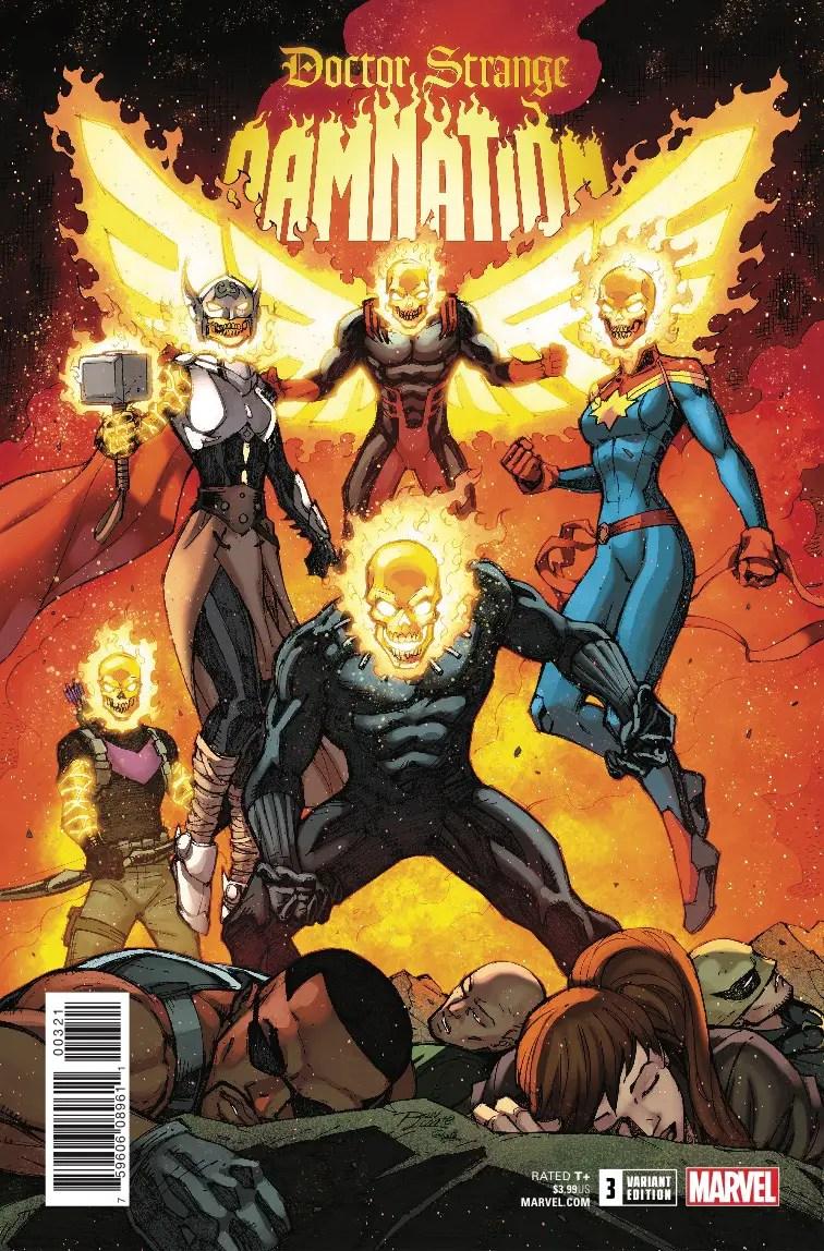 Doctor Strange: Damnation #3 Review