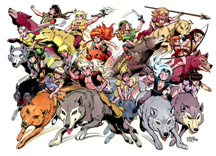 Revisiting for the First Time: Elfquest