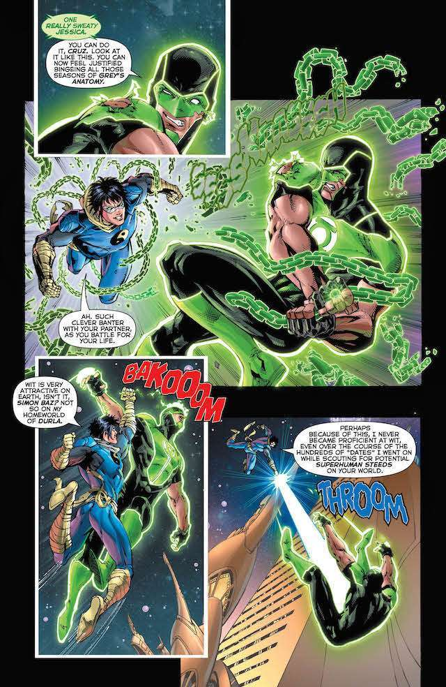 Green Lanterns #43 review: Ending a bad arc with a better issue