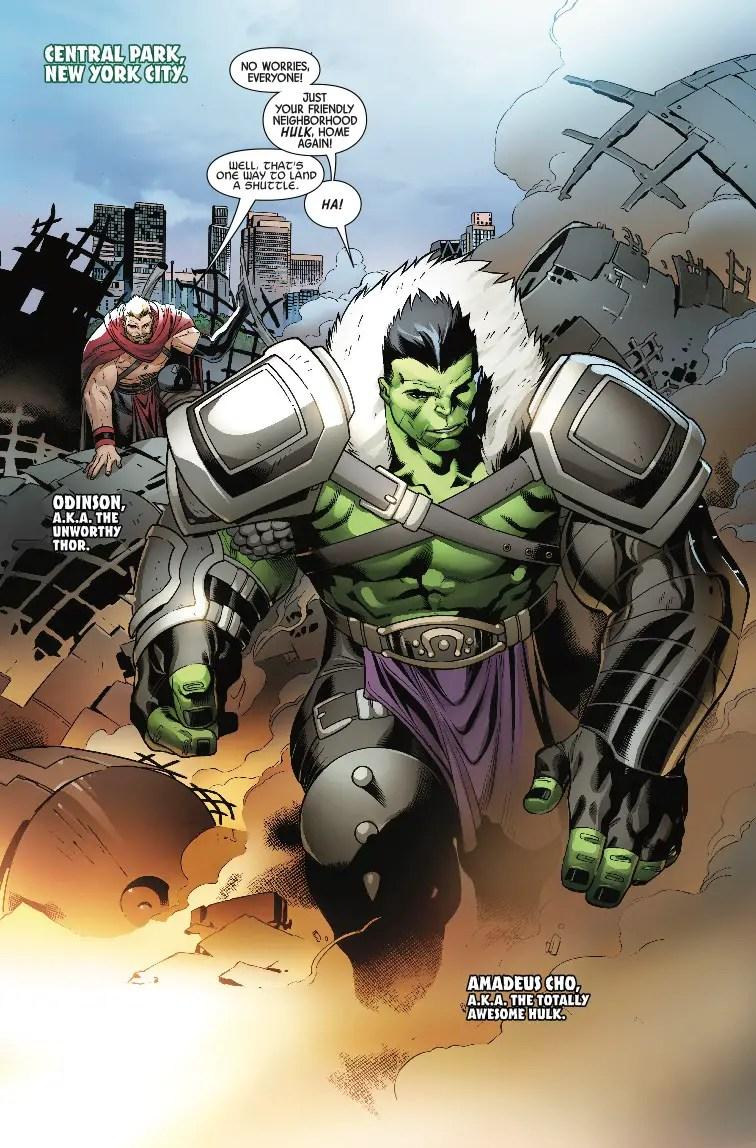 The Incredible Hulk #714 Review
