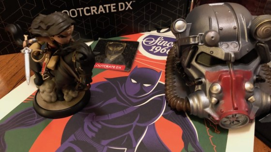 Wonder Woman, Black Panther, and more inside this months Loot Crate DX!