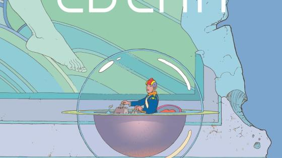 'Moebius Library: The Art of Edena' is a must for fans of Moebius' legendary work