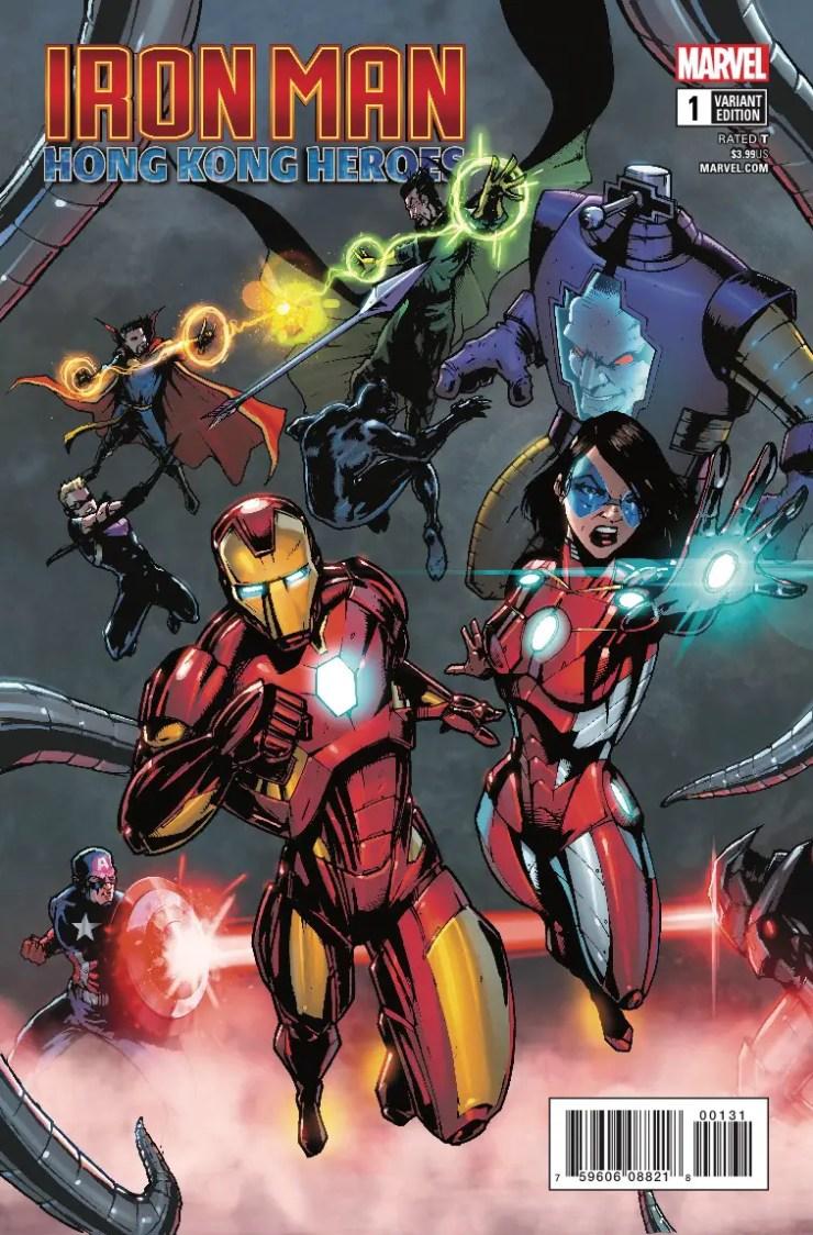 Marvel Preview: Iron Man: Hong Kong Heroes #1