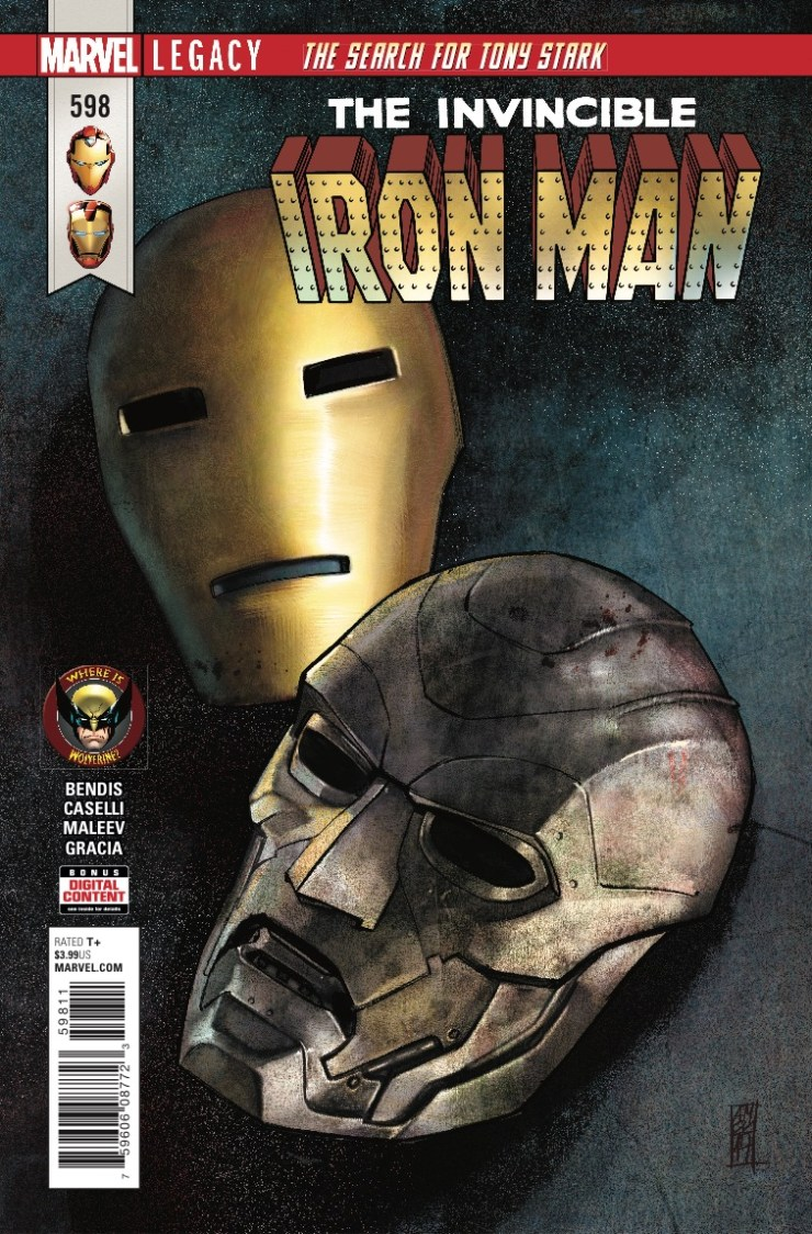 Marvel Preview: Invincible Iron Man #598
