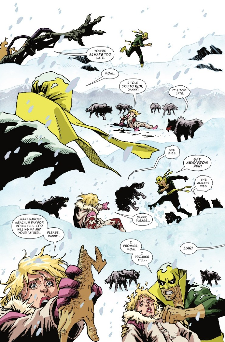 Marvel Preview: Iron Fist #78