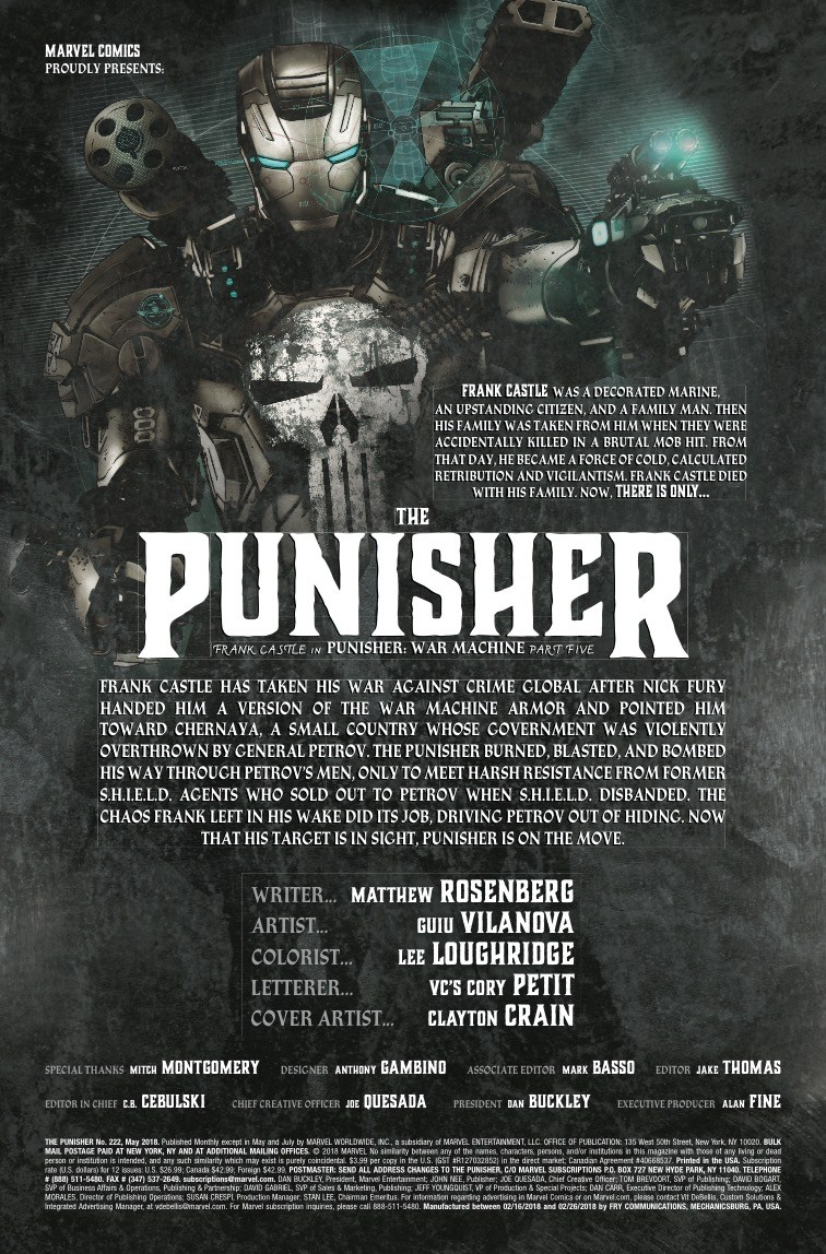 The Punisher #222 review: Another bloody good time from one of Marvel's best series