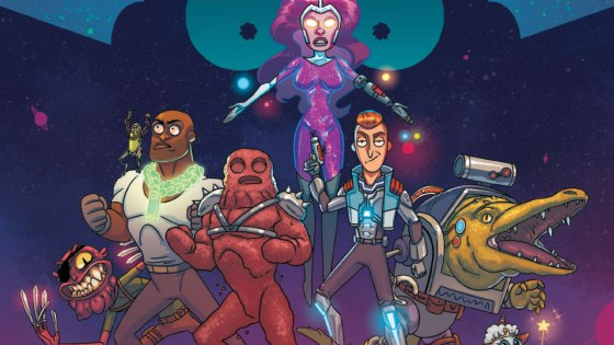 Explore the twisted and bombastic history of THE VINDICATORS in an all-out superhero comics extravaganza.