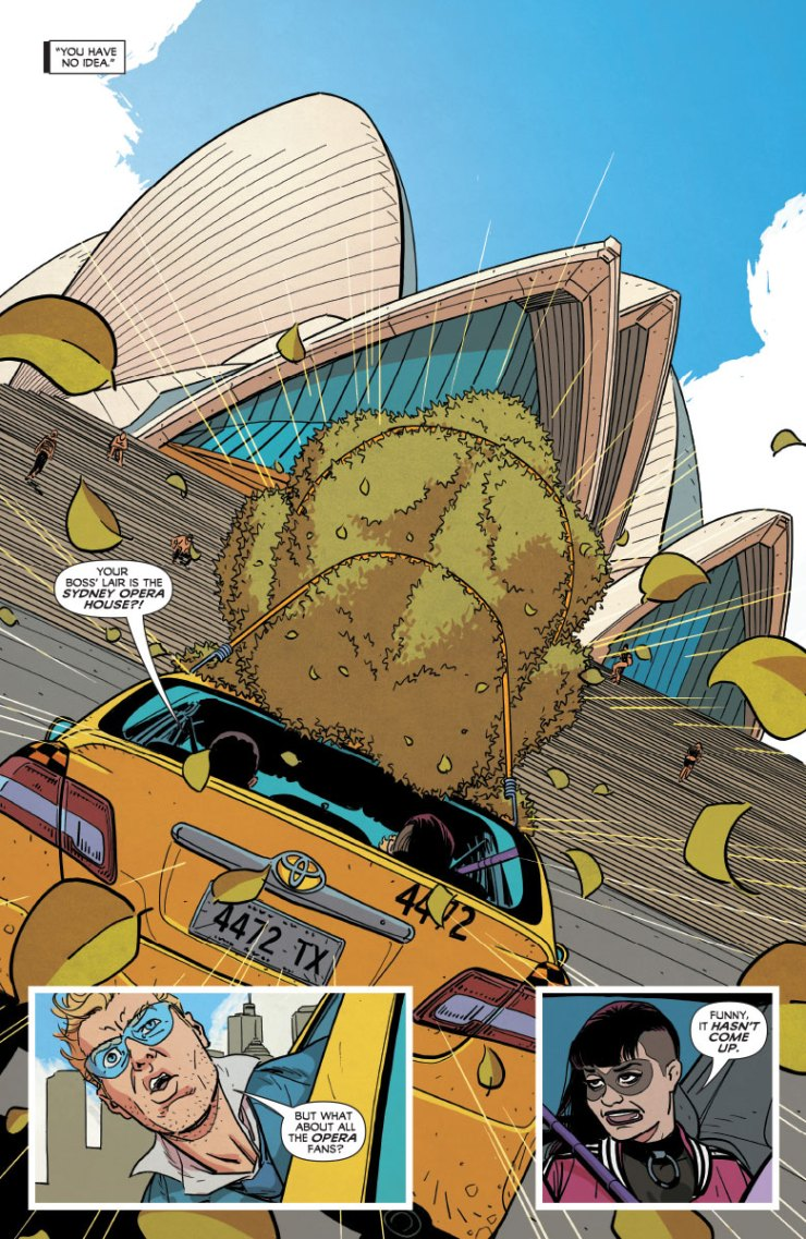 Quantum and Woody #4 Review