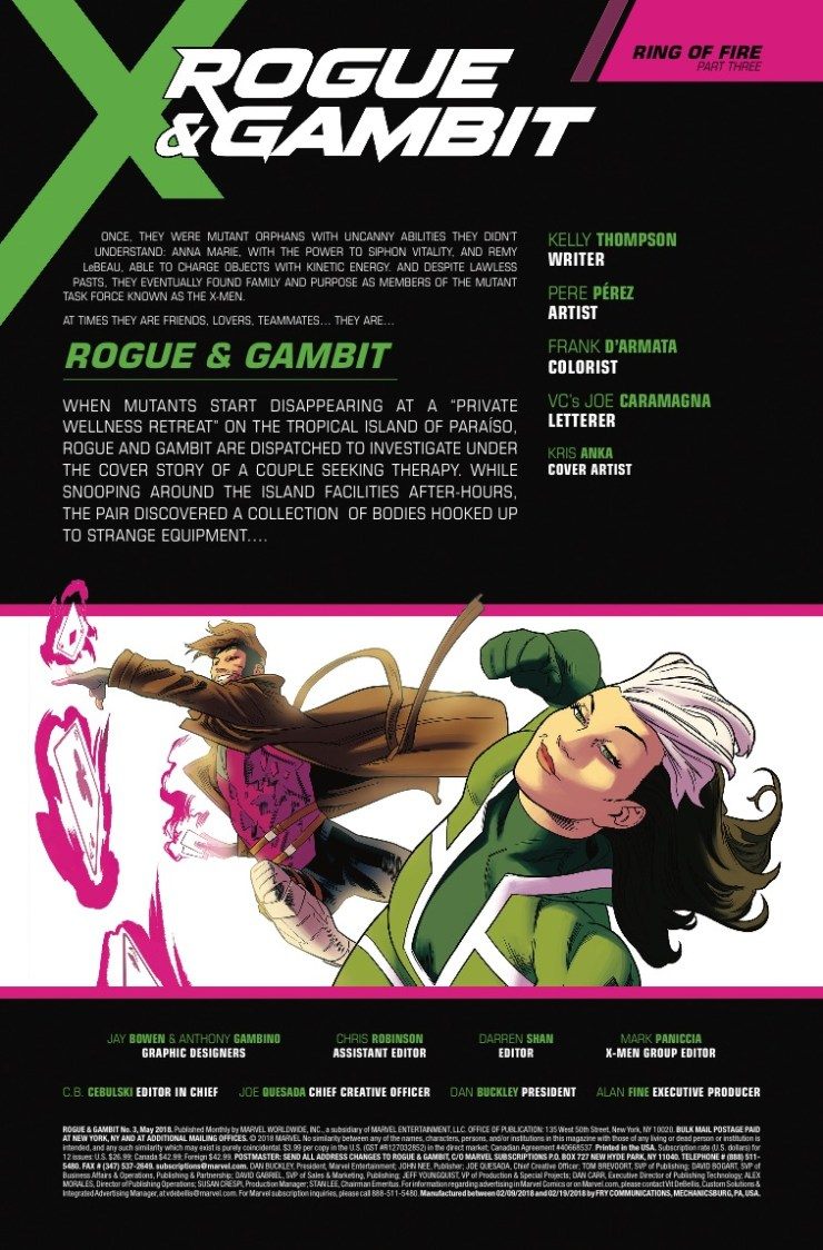 Marvel Preview: Rogue & Gambit #3