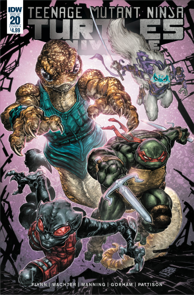 Teenage Mutant Ninja Turtles Universe #20 Review