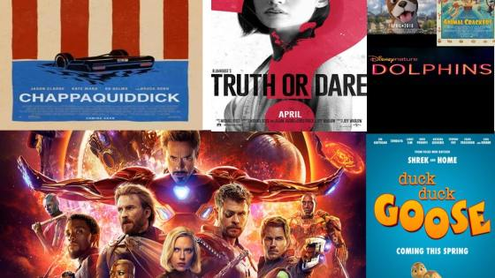 Movies to look forward to in April