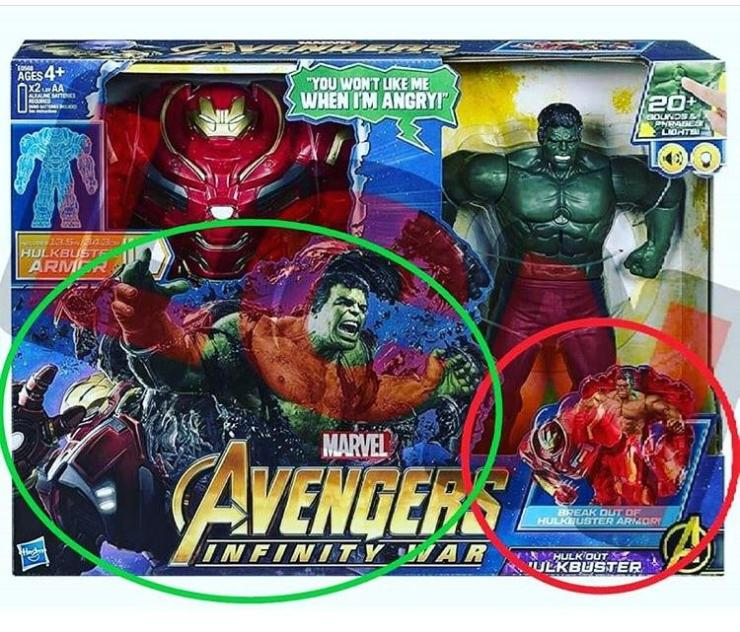 Leaked 'Avengers: Infinity War' toy image confirms massive spoiler for certain character